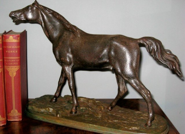 Patinated Iron Horse