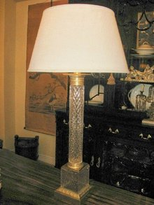 Crystal Column Lamp