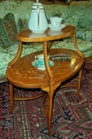 XIX Century Adams Style Satin Wood Side Table