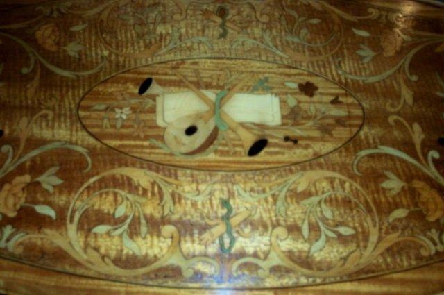 XIX Century Adams Style Satin Wood Side Table