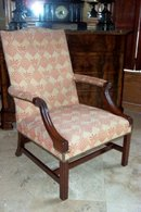 George III Library Arm Chair