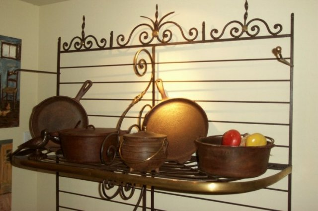 XIX Century Bakers' Rack