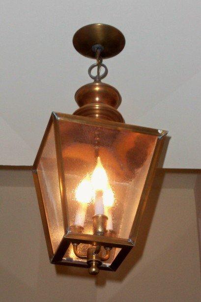 1940's Brass Lanterns