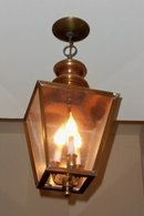 1940's Brass Lanterns