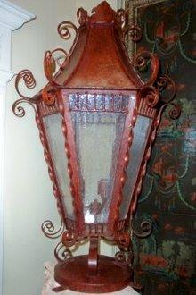 Iron Post Lantern