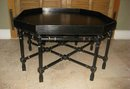 XX Century Tray Top Ebonized Coffe Table