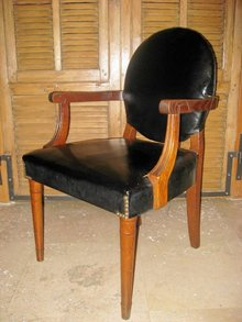 Pr. 1920's Arm Chairs