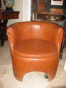 Modern Leather Arm Chair