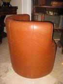 Modern Leather Arm Chair