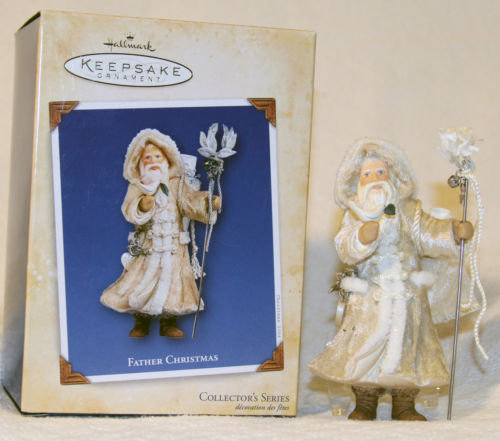 2004 FATHER CHRISTMAS #1 First in Series Ornament