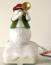 2011 Hallmark TROMBONE TONY Wireless Snowman Band Music / Motion