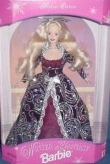 Winter Fantasy BARBIE Doll 1996 Blond MIMB~Special Edition