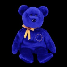 UNITY Ty Beanie Baby Bear Europe Exclusive