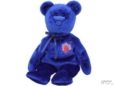 VANDA Ty Beanie Baby SINGAPORE Exclusive Asian Pacific Bear