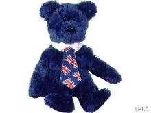 UK POPS Ty Beanie Baby Bear UK Exclusive