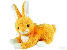 BUTTERCREAM Ty Beanie Baby Bunny~Beanie of the Month~Easter Rabbit