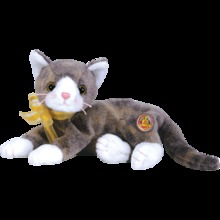 CAPPUCCINO Ty Beanie Baby Cat Beanie of the Month