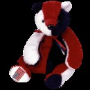 PATRIOT Ty Beanie Baby Bear USA Exclusive
