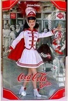 COCA COLA BARBIE Doll 2001 Majorette #5 Mattel