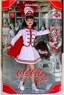 COCA COLA BARBIE Doll 2001 Majorette #5 Mattel