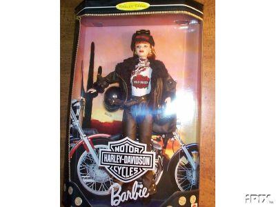 BARBIE Harley Davidson 1997 #2 Redhead Doll