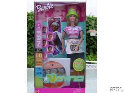 NSYNC  CD & Barbie #1 Fan~Justin Timberlake~Joey Fatone