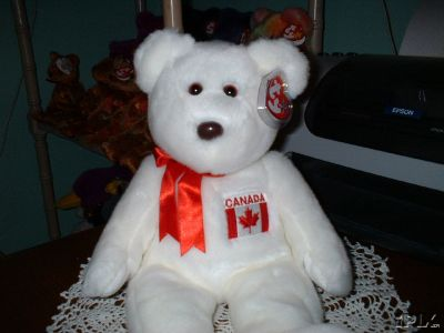MAPLE Beanie BUDDY Ty Canadian Exclusive