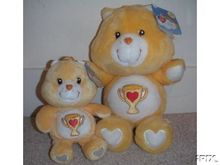 new! CHAMP BEAR Care Bears 20th Anniversary Edition 8