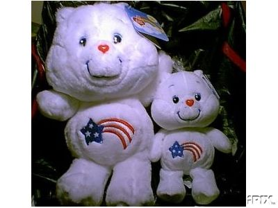 AMERICA CARES BEAR Care Bears 20th Anniversary Edition 8