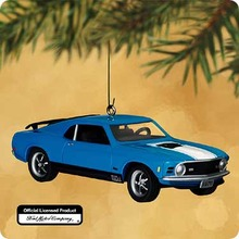 FORD Mach I MUSTANG 1970 Hallmark 2002 Christmas Ornament