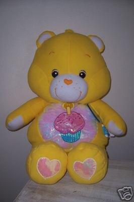 Jumbo BIRTHDAY Care Bear CUDDLE PILLOW