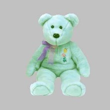 ARIEL Ty Beanie BUDDY Bear for Pediatric Aids