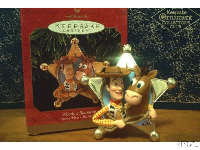 WOODY's ROUNDUP Toy Story 2 Disney Hallmark Ornament