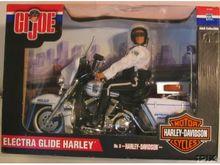 GI Joe Harley Electra Glide Police Motorcycle