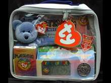 Ty CLUBBY II (2) Platinum Membership Kit Bear in Sealed Case