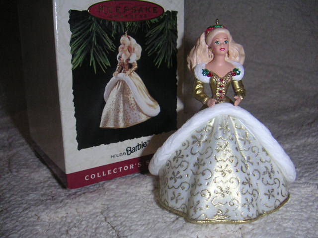 HOLIDAY BARBIE Hallmark 1994 Ornament 2nd in Series