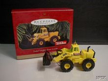 TONKA Mighty Front Loader Hallmark 1997 Ornament