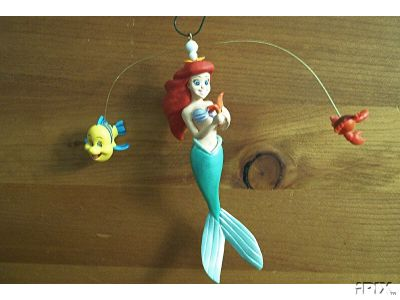 ARIEL: The Little Mermaid Hallmark 1997 Ornament Disney