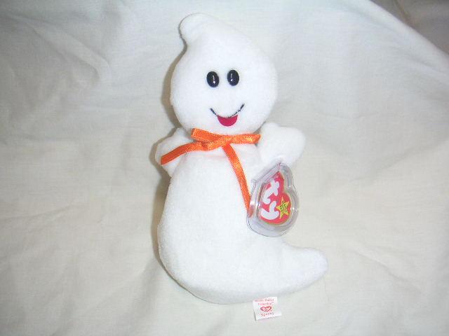 SPOOKY Ty Beanie Baby Halloween Ghost