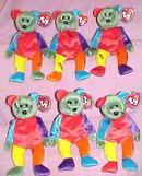 FRANKENTEDDY Ty Halloween Beanie Baby Bear