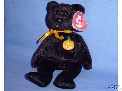 HAUNT Ty Halloween Beanie Baby Bear