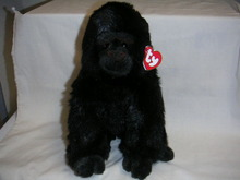 BABY GEORGE Ty Plush Classic Furry Gorilla Retired