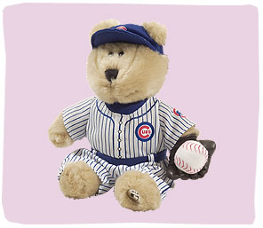STARBUCKS Chicago CUBS Bearista Plush Bear  MLB 1st Edition