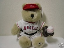 STARBUCKS ANAHEIM ANGELS Bearista Plush Bear  MLB 1st Edition
