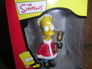 The SIMPSONS Santa Bart with Bell Christmas Ornament