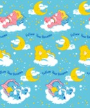 CARE BEARS Fleece Throw Blanket 50X60