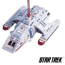 Runabout --U.S.S. Rio Grande HALLMARK ORNAMENT 1999 STAR TREK:DEEP SPACE NINE