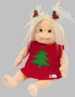 Ty NOELLE Christmas Holiday Beanie Kid Doll