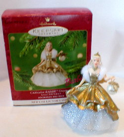 CELEBRATION BARBIE Hallmark Christmas Ornament 2000