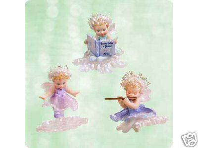 Hallmark 2003 FROSTLIGHT FAERIE SISTERS Set of 3